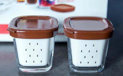 De quoi se compose la yaourtière 24 pots SEB ?